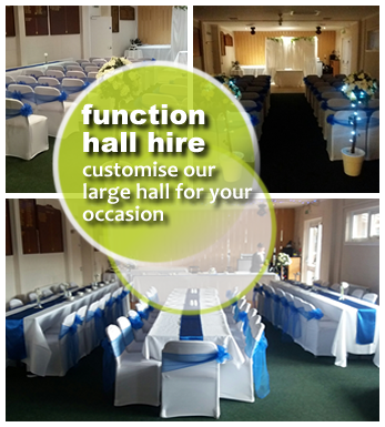 Bankton Mains Hall Hire, Function hall for Hire Livingston